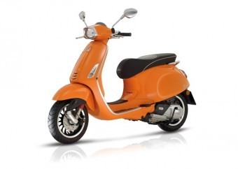 Vespa sprint euro 4 orange 1