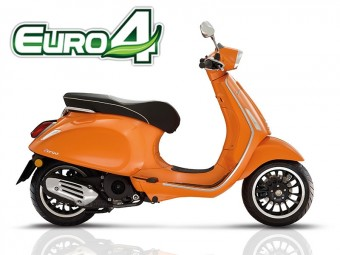 Vespa sprint euro 4 orange 2