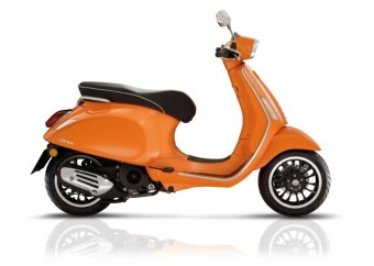 Vespa sprint euro 4 orange